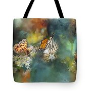 Butterflies On A Spring Day Tote Bag