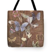 Butterflies On A Tree Tote Bag