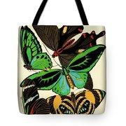 Butterflies, Plate-1 Tote Bag