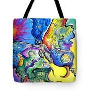 Butterfly 01. Science And Its Progress  Tote Bag