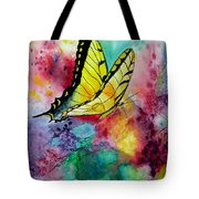 Butterfly 2 Tote Bag by Dee Carpenter