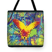 Butterfly All Aglow Tote Bag