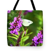 Butterfly And Bouquet Tote Bag