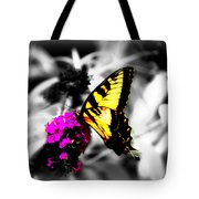 Butterfly And Lilac Tote Bag
