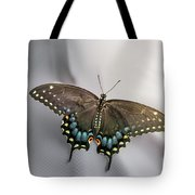 Butterfly At Picnic Tote Bag
