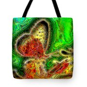 Butterfly Aura Tote Bag