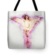Butterfly Ballerina Watercolor   Tote Bag