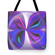 Butterfly Behind The Scenes Tote Bag
