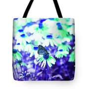 Butterfly Blues Tote Bag