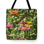 Butterfly Breakfast Tote Bag