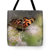 Butterfly Bubbles Tote Bag