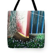 Butterfly Bush Tote Bag