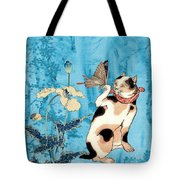 Butterfly Charmer Tote Bag