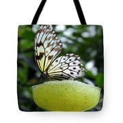 Butterfly Cocktail Time Tote Bag