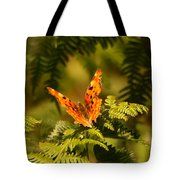 Butterfly Comma Tote Bag
