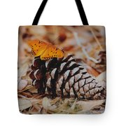 Butterfly Cone Tote Bag