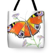 Butterfly Dressed For A Masquerade Ball Tote Bag