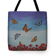 Butterfly Field Tote Bag
