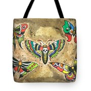 Butterfly Flash Tote Bag