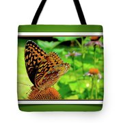 Butterfly For Earth Day Tote Bag