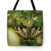 Butterfly From Another Side Tote Bag