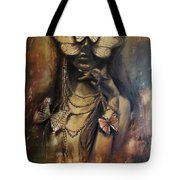 Butterfly Girl.  Tote Bag