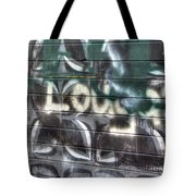 Butterfly Graffiti Tote Bag