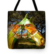 Butterfly Horse Ocala Florida Tote Bag