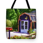 Butterfly House 2 Tote Bag