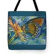 Butterfly In Ca Tote Bag
