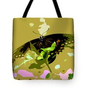 Butterfly In Color Tote Bag