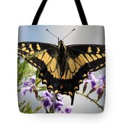Butterfly In My Garden Tote Bag