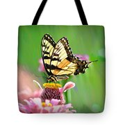 Butterfly In Summer Tote Bag
