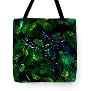 Butterfly In The Bush Tote Bag