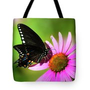 Butterfly In The Sun Tote Bag