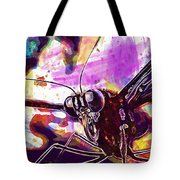 Butterfly Insect Eyes Probe  Tote Bag