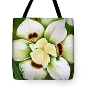 African Butterfly Iris Tote Bag