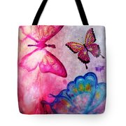 Butterfly Jam Tote Bag