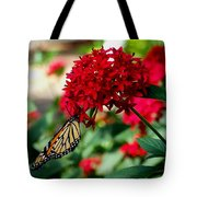 Butterfly Kiss Tote Bag