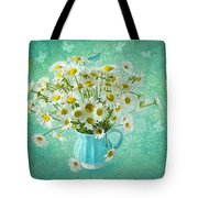 Butterfly Kisses And Flower Petal Wishes  Tote Bag