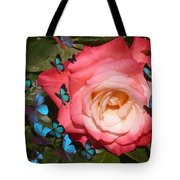 Butterfly Kisses Tote Bag