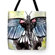 Butterfly Macro Tote Bag