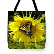 Butterfly Monarch Ba Tote Bag