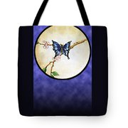 Butterfly Moon Tote Bag