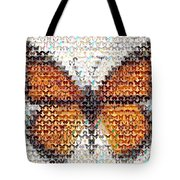 Butterfly Mosaic Tote Bag
