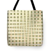 Butterfly Multiplication Abstract, Tote Bag