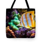 Butterfly Of The Sea Tote Bag