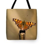 Butterfly On A Stick Tote Bag
