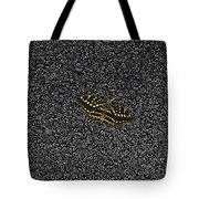 Butterfly On Stone Tote Bag