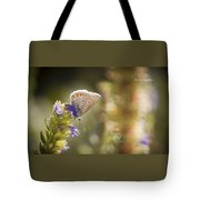 Butterfly On The Spot Tote Bag